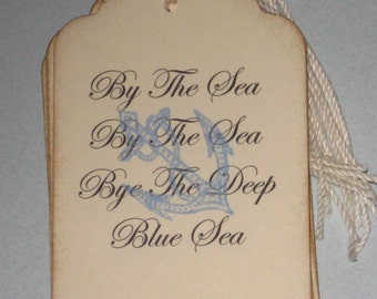 8 By The Sea Anchor  Gift Tags