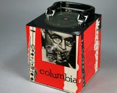 Benny Goodman Combos CD Case or Keepsake Box Handmade from Recycled Record