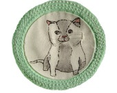 Merit Badge for 'being a smitten kitten'