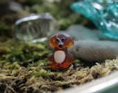Artisan glass lampwork cocker spaniel ... fairy garden pet ... terrarium decor ... How much is that doggie in the garden ... by simply cindy