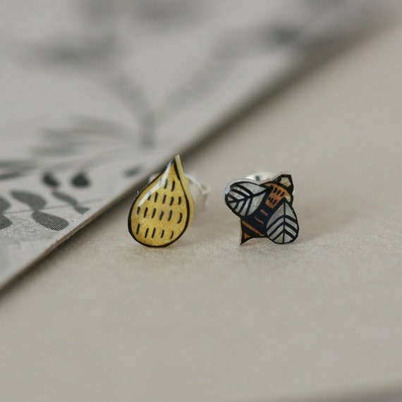 Honeybee - Earring Studs