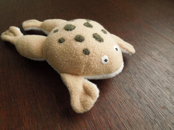 Fat Frog or Toad Stuffed Animal Plush Toy