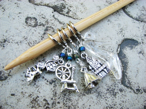 Once Upon a Time - Fairy Tale Non-Snag Stitch Markers