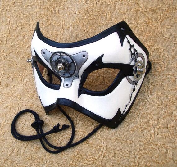 Time Bandit V24... original mixed media handmade steampunk mask