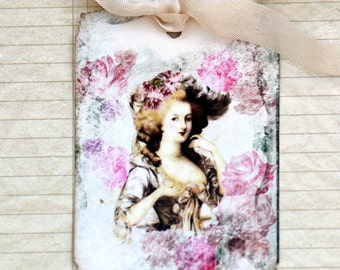 Shabby French Marie Hang Tags