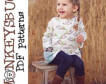 Classic Peasant Pocket Top PDF eBook Pattern INSTANT DOWNLOAD