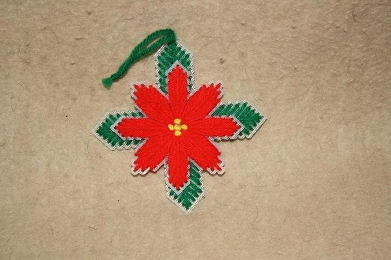 591 Poinsetia ornaments