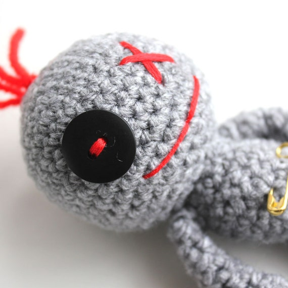 Valerie the Amigurumi Voodoo Doll