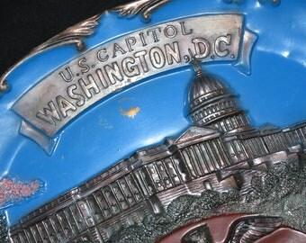 Vintage Washington DC Souvenir Tray