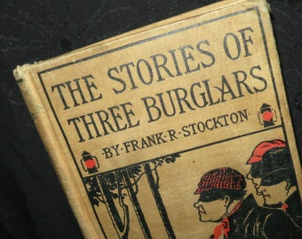 1889 Three Burglars Book