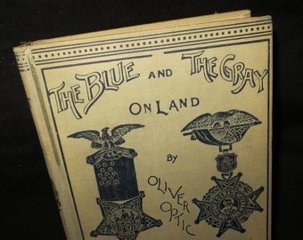 1895 Blue and Gray Oliver Optic Book