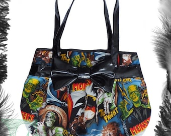 Horror Movie Monsters & Pvc Handbag