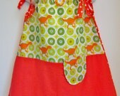 RESERVED - for Marie dinosaur DRESS size 2-3T