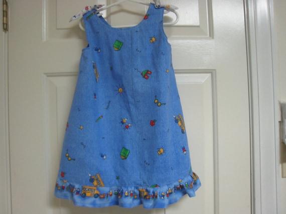 Back to Preschool Size 3 Jumper