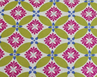 SALE!!! Secret Garden - Modern Meadow in Green - by Sandi Henderson for Michael Miller fabrics