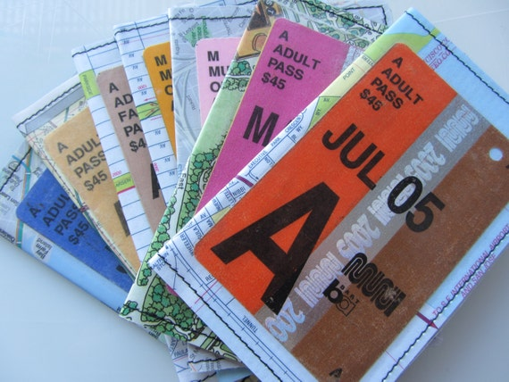 Slim Wallet- San Francisco Muni Fast Pass- Choose 1