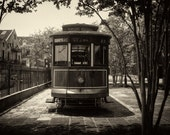 Streetcar Named Desire -- New Orleans Circa 1988 -- 8 x 12.5 inch Photograph