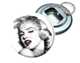 Bottle Opener - Marilyn Monroe Red Lips