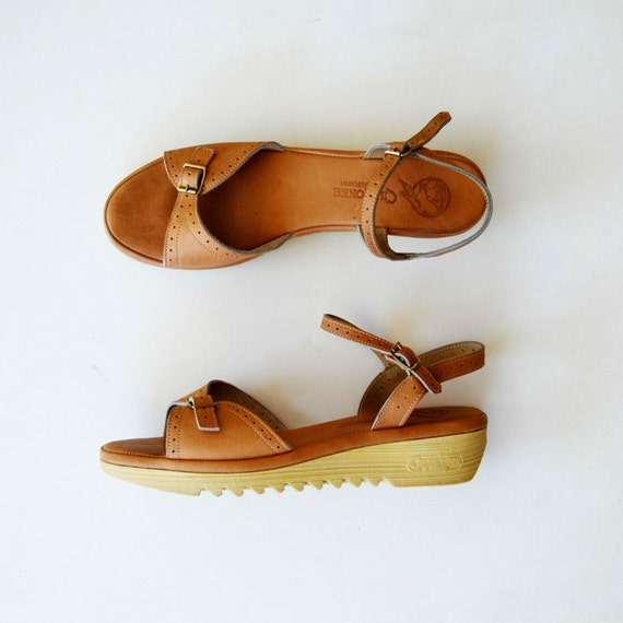 18 cm cork wedges and ice - 2 2