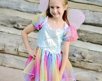 Fabulous Rainbow Fairy Costume