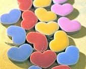 Porcelain Tile Country Heart Shapes for Mosaics (20 Pieces)