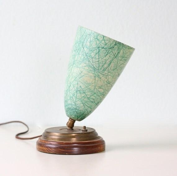 Retro Aqua Lamp