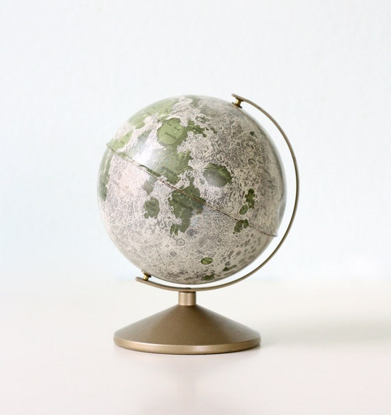 Vintage Moon Globe Bank - Replogle