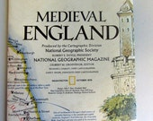 Medieval England Map
