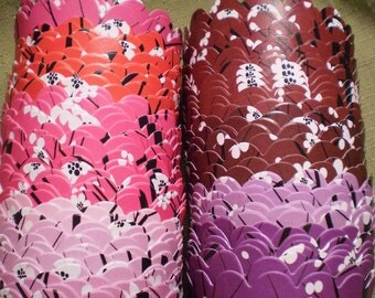 Custom Cherry Blossom Cupcake Wrappers (12)