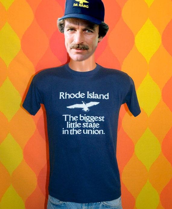 Rhode Island t Shirt Vintage 70 39 s t Shirt Rhode