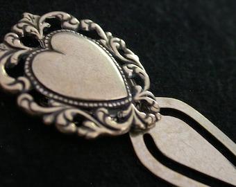 Artisan Made Heart Bookmark Holiday Gift on Etsy