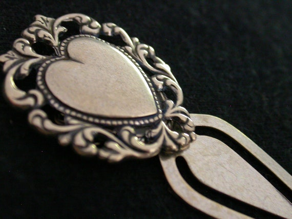 Artisan Made Heart Bookmark Holiday Gift on Etsy
