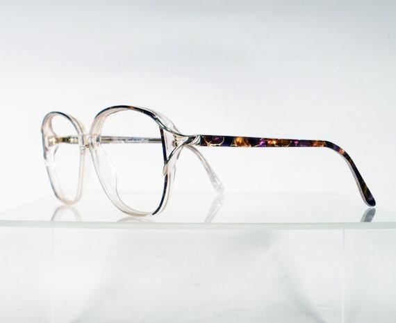 GLORIA VANDERBILT Brown with Gold Vintage Eyeglass Frames
