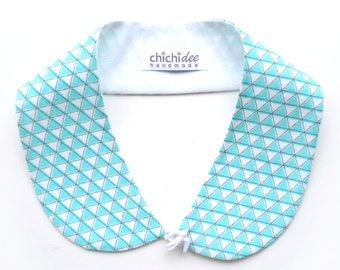 Peter Pan Collar // Detachable Collar // Collar Necklace // Blouse Collar // Minty Mountains and Swallow