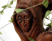 RESERVED listing for Annie - final installment - My Nana - Grandma Willow Inspired Wooden Carved Sculpture by Tanja Sova
