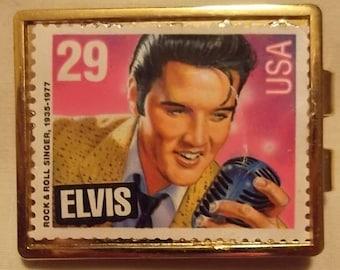 Elvis 1992 Original Stamp Vintage Money Clip