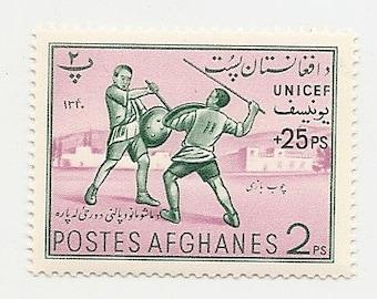 25 Old VINTAGE UNUSED STAMPS Postes Afghanes