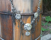 Steampunk Earthenwood Gear Necklace (take 3) (PRICE REDUCED)
