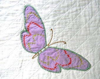 vintage butterfly pillow cover no. 14