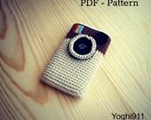 PDF Pattern - Instagram cell phone cozy
