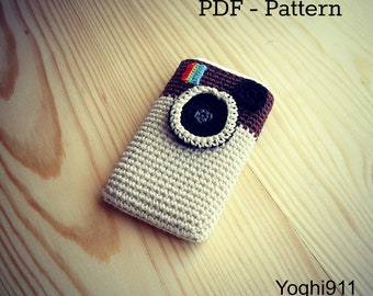 PDF Pattern - Instagram cell phone cozy