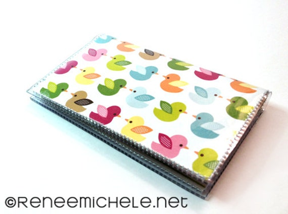 Bird Chicks bi-fold Card Holder Wallet chicken