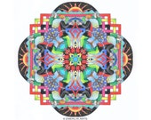 Medieval Mandalas Coloring Pages for Adults