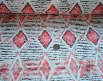 NEW Fresh Produce diamonds on cotton jersey knit fabric