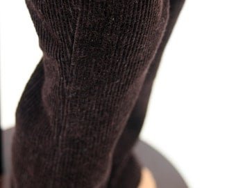 Fits like American Girl Doll Clothes - Flared Corduroy Pants in Dark Chocolate, Made To Order