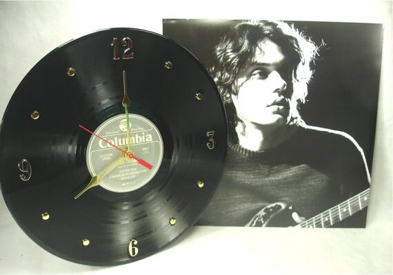 john mayer vinyl record clock continuum 2006 by itsourearth. Black Bedroom Furniture Sets. Home Design Ideas
