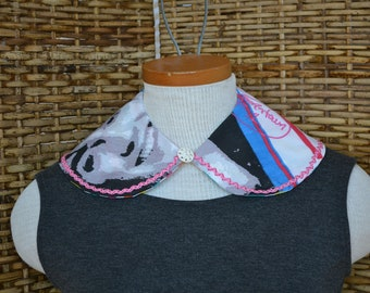 NKOTB Jonathan Knight Detachable Collar Necklace Peter Pan Reversible