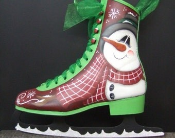 12013 Frosty Skate Pattern Oil Creek Originals