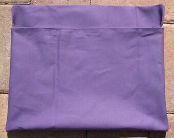 1 MEDIUM PURPLE Chair Pocket Classroom Seat Sacks Desk Organizer Chair Bag Durable Washable Duck Cloth Chair Pocket Factory