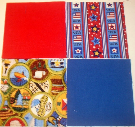 Boy Scouts Quilt Kit 5 Inch